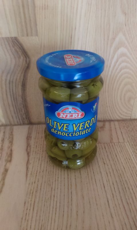 Olive verdi denacionale 320g
